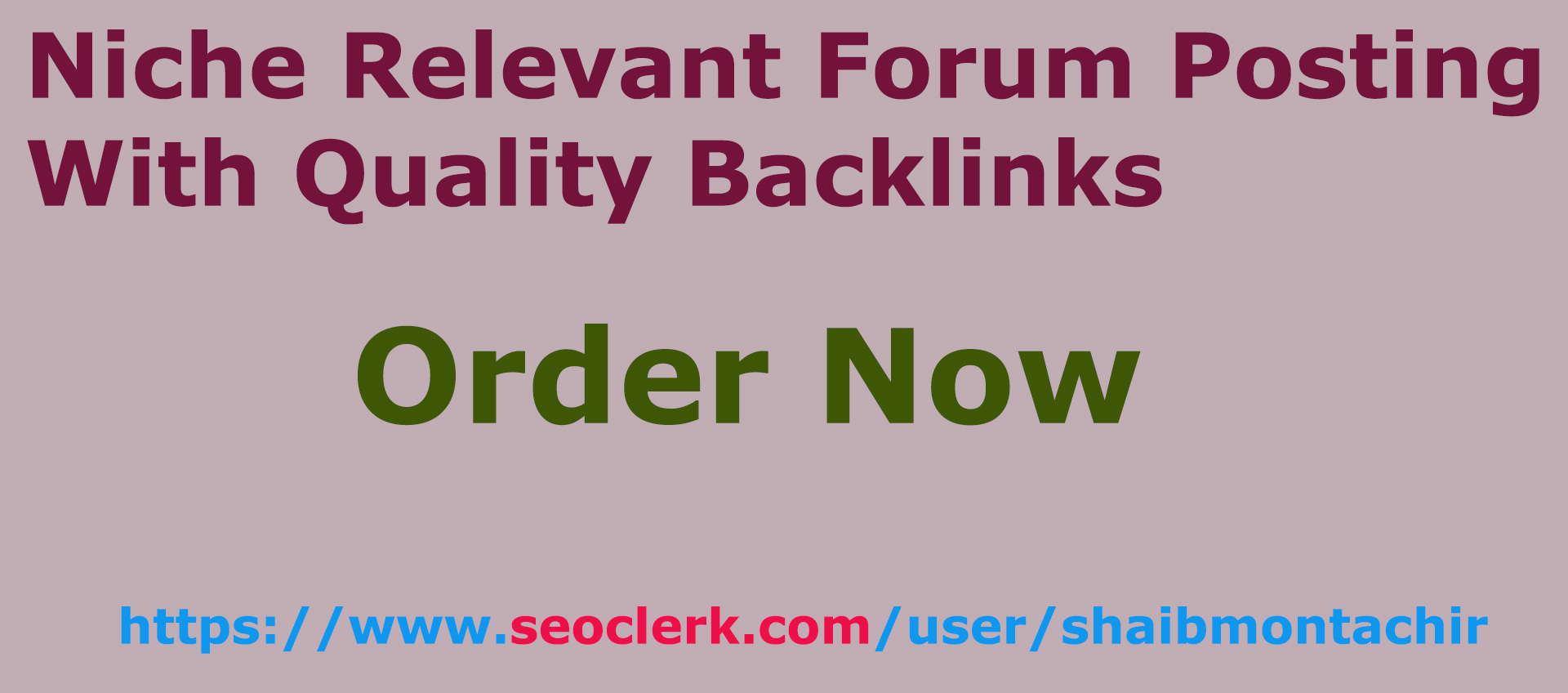 30 Niche relevant forum posting comments with quality backlinks
