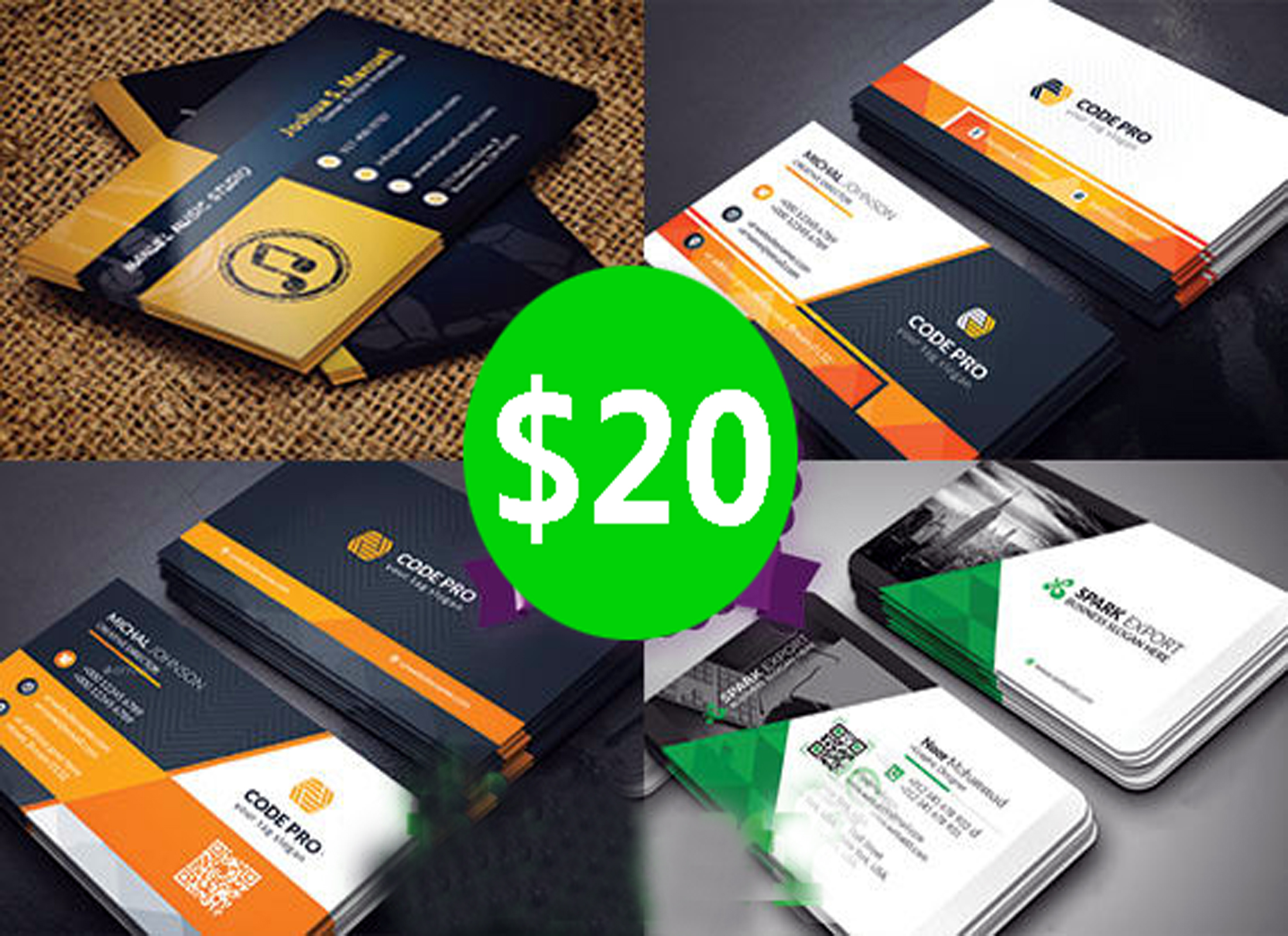 Design a Corporate Business Card for your Business