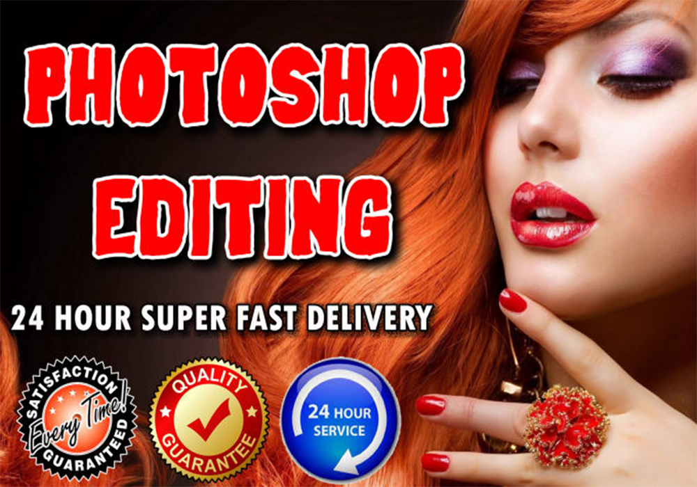 Photoshop Editing, Image Retouching Professionally