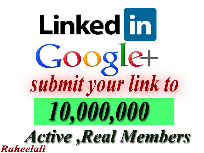 promote anything to 10,000,000 linkedin and google me...