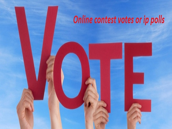Provide 150 different IP votes, single ip votes for any contest