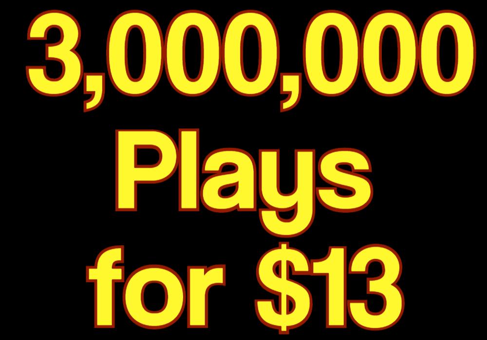 Get 3,000,000 High Retention Music Play, 200 LlKE,  120 Rep0st 10 C0mments