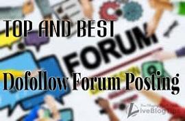 50 high quality unique forum posts