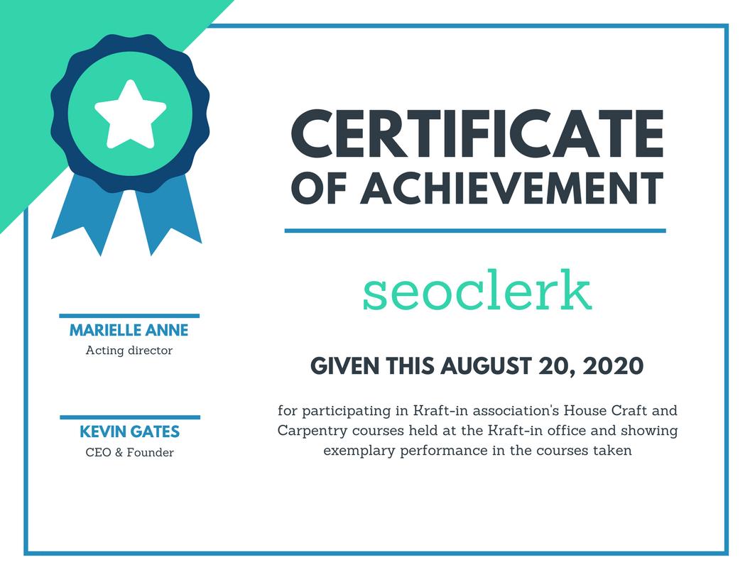 Create Professional Certificate Design