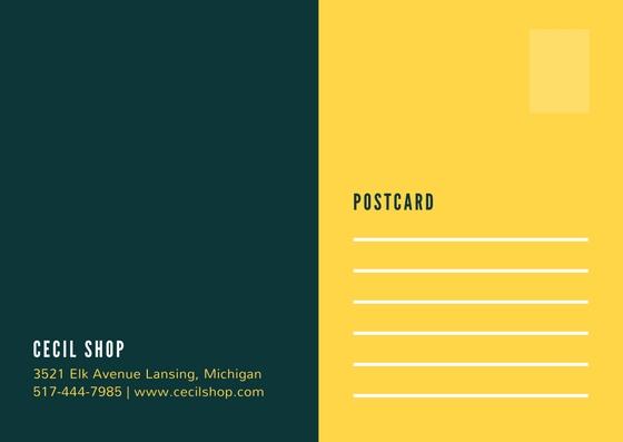 Create Professional Postcard Design