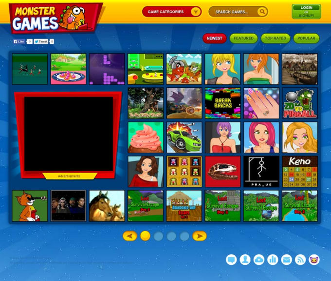 Build Arcade Games Online Website