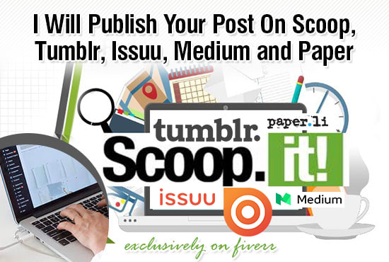 Publish Your Post On Scoop, Reddit, Tumblr, Issue,...