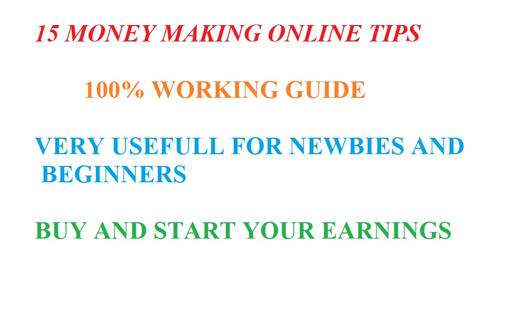 Money Making Guide