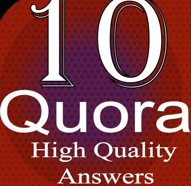 promote your website by 15 you high quality Quora answer posting with backlink