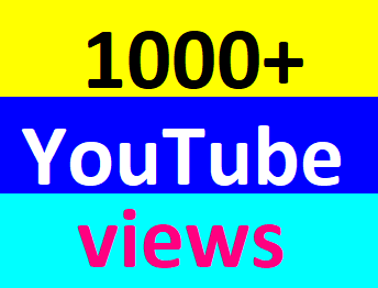 Safe 1000+High Retention You-Tube Vi'ews Non Drop Refill Guaranteed Just