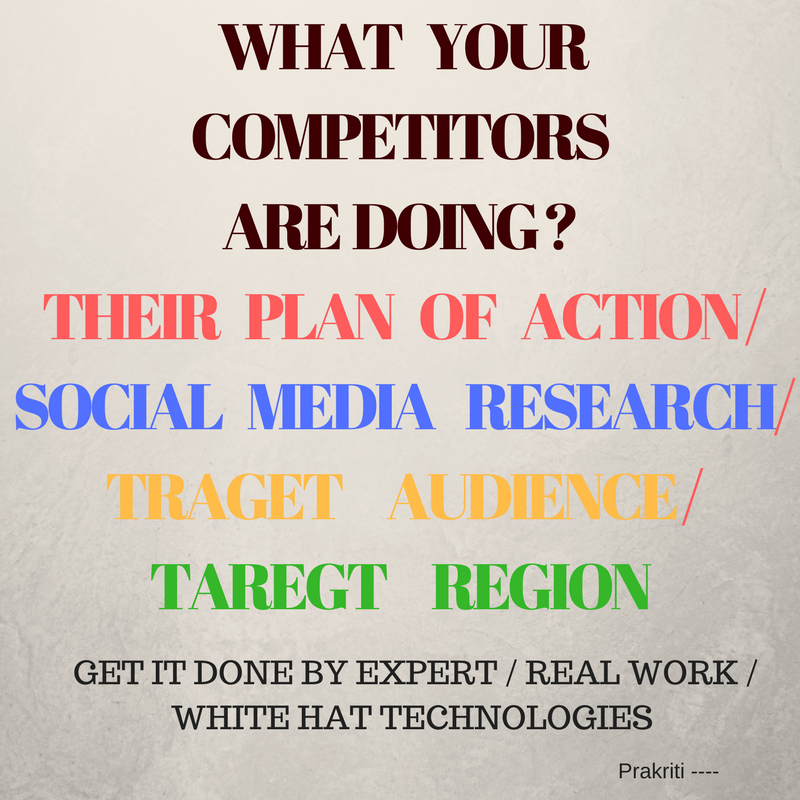 WILL Dig out yours competitors plans, analysis, data, details
