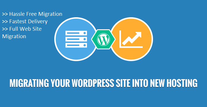 Transfer wordpress site without any data loss