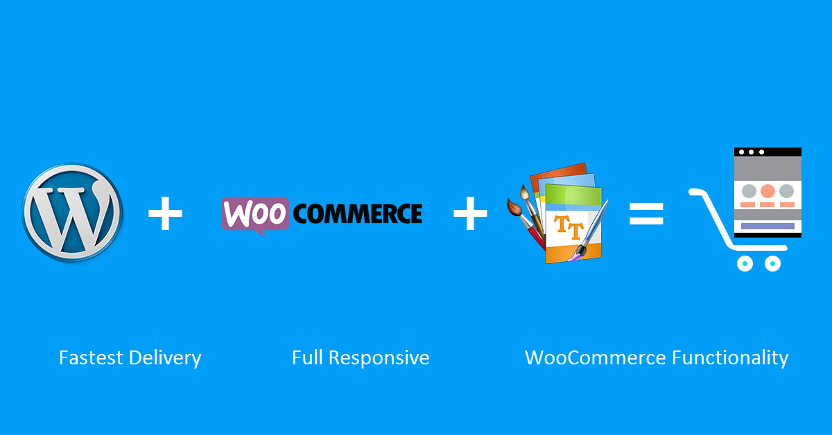 Create full woocommerce website