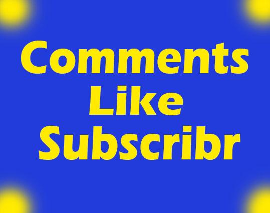 25 Youtube custom Comments+ 25 youtube shares+ 25 youtube like