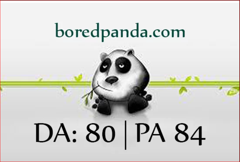 Write & Publish guest post  On Da 80+  Boredpanda