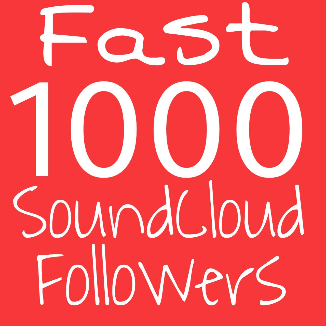 Get Instant 1000+ Soundcloud Followers and 200 Donwloads