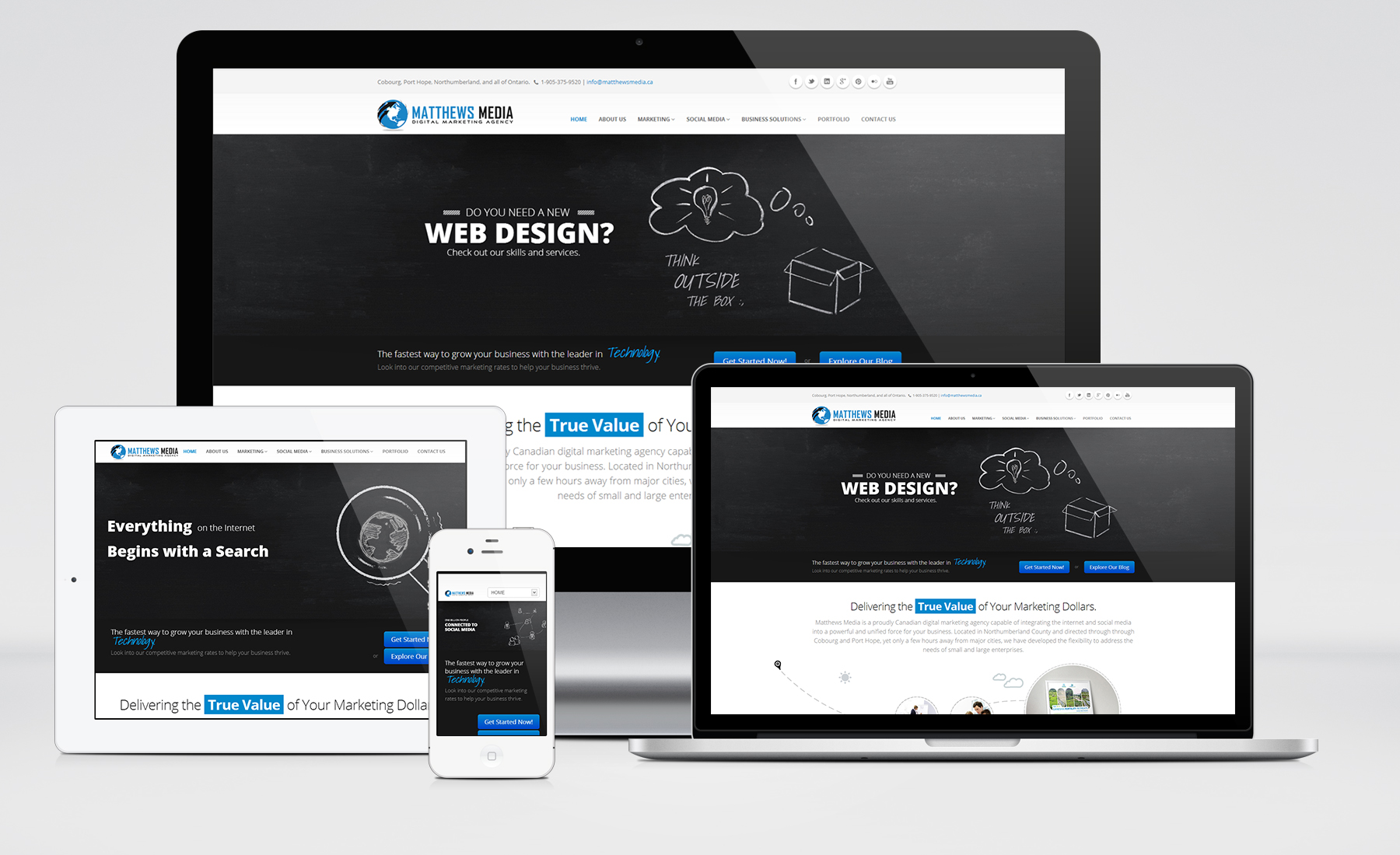 Professional And Elegant Web Design