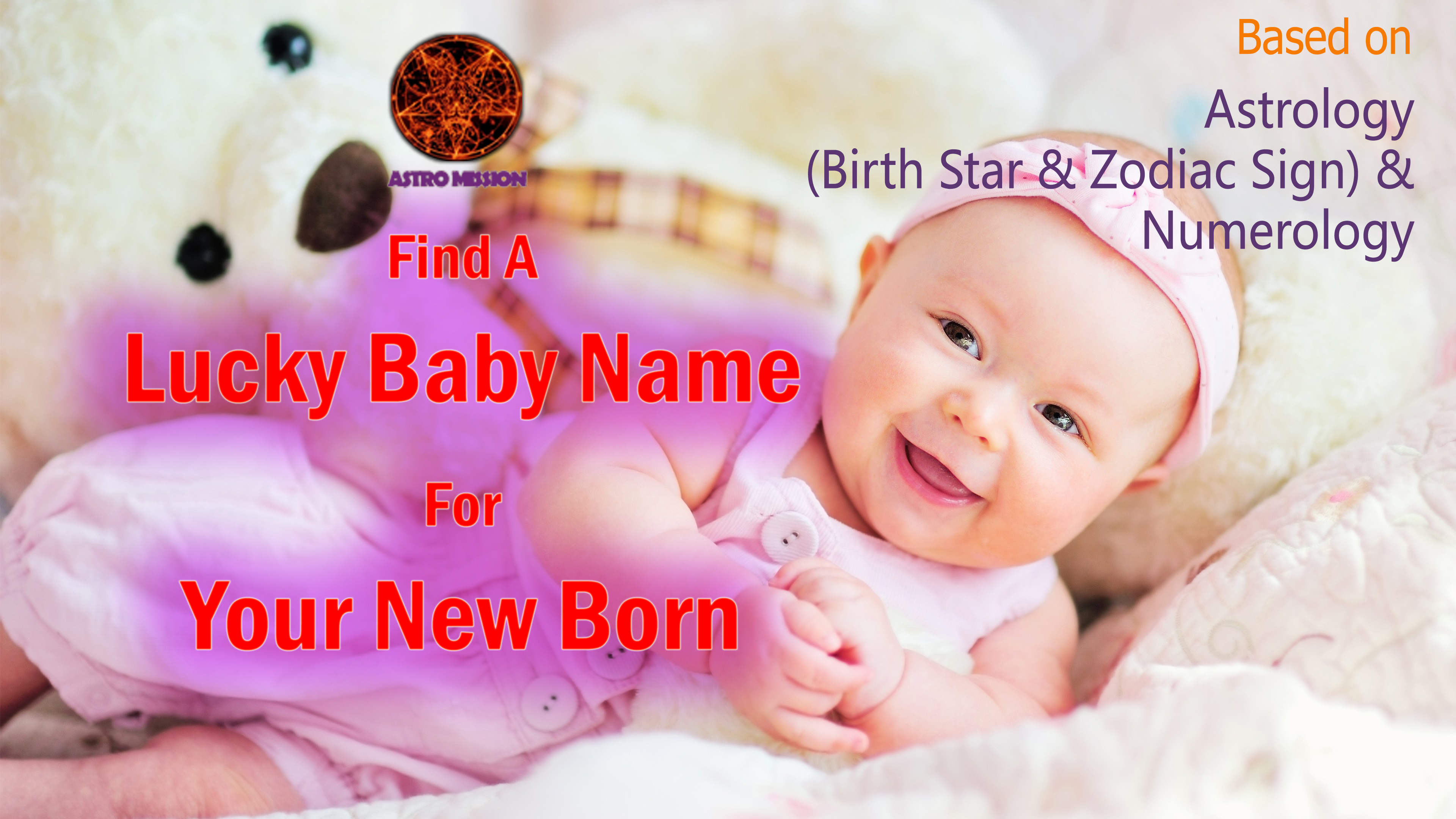 Find A Lucky Baby Name For Your New Born