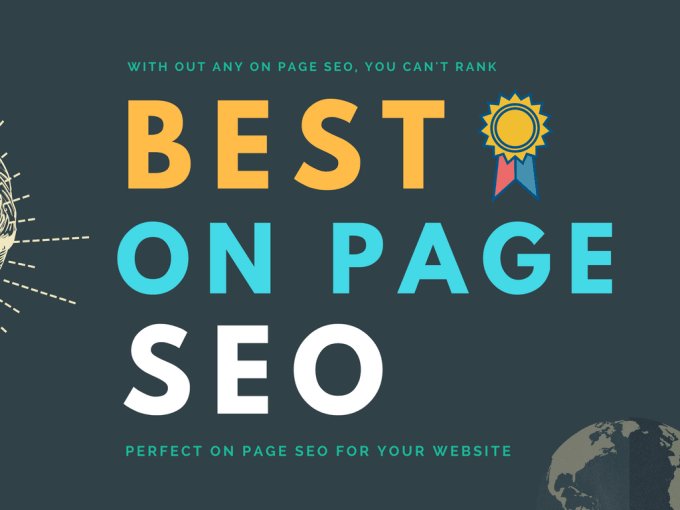 perfect on page SEO for your website