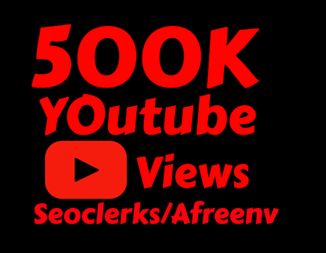 500k High Quality Views Instant Start Fully Safe
