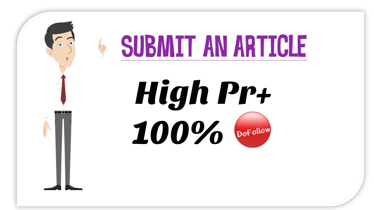 Create 30 submission 10 High PR web 2.0 10 article directories  for $5