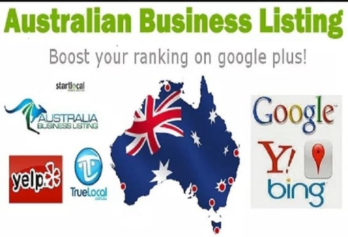 create 20 australian local citations