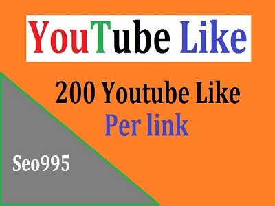 Give You 200 Youtube Like only