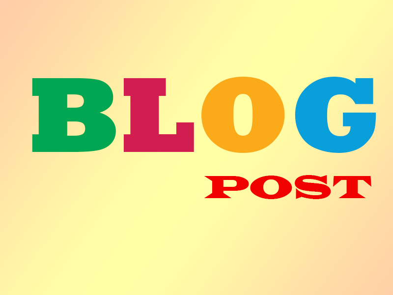 20 blog posts on your private blog