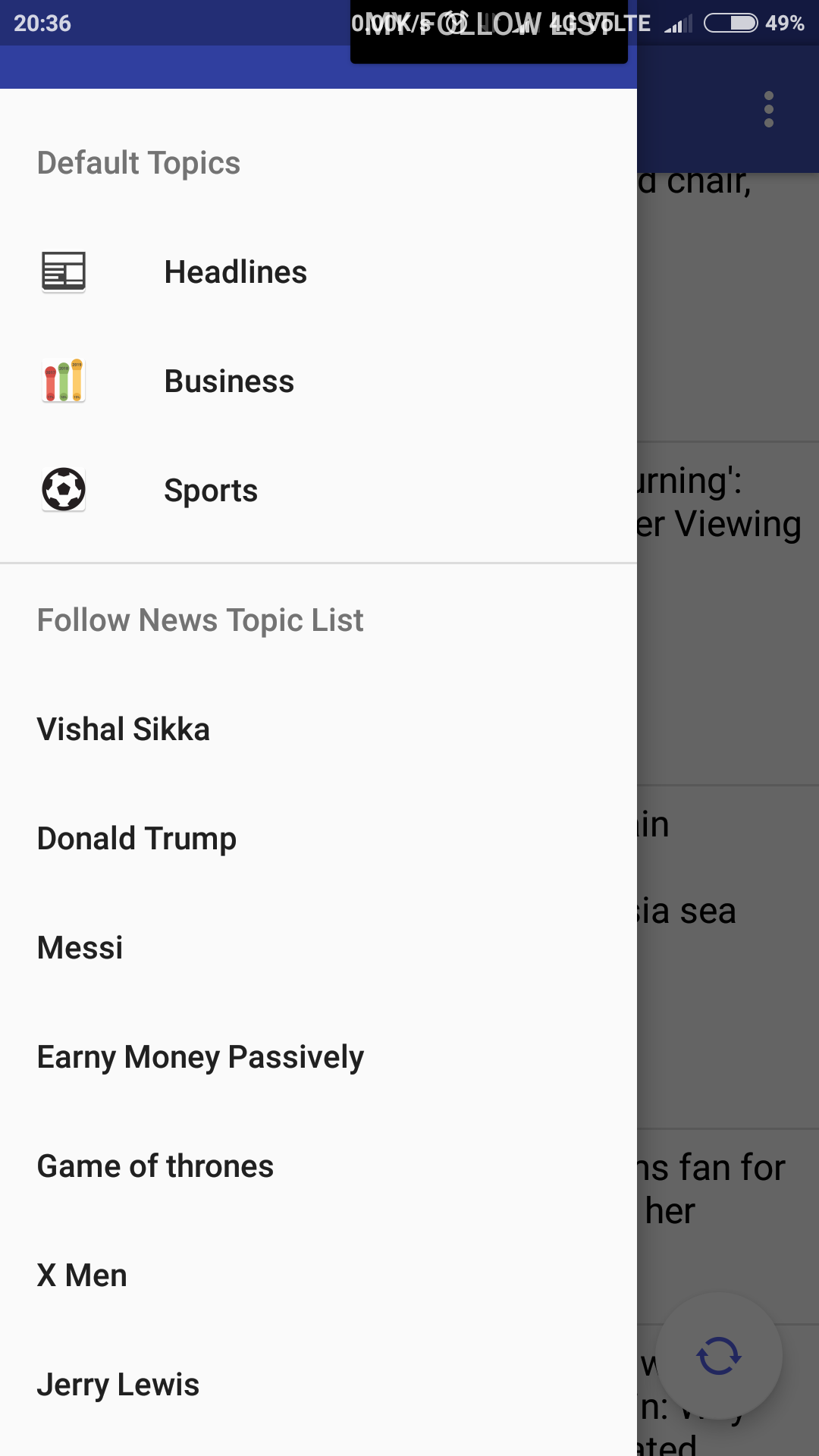 Convert RSS Feed To An Android App