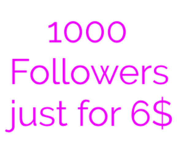 Get 1000 Followers
