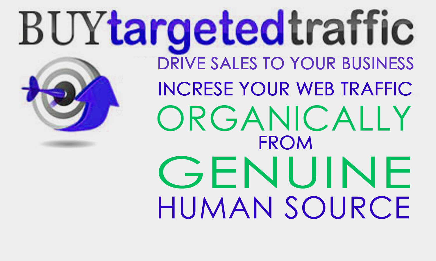 Drive UNLIMITED Real Organic Targeted Traffic, low bounce rate & quality visitors