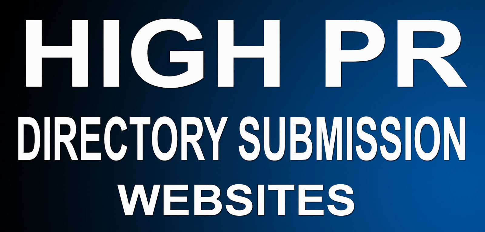 Build 200 High Pr Directory Submission Backlinks