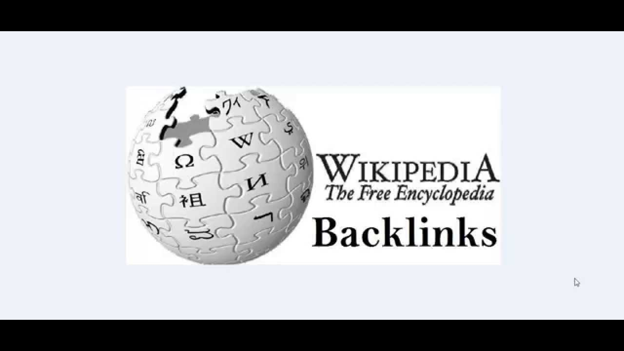 High Authority Wikipedia Backlink