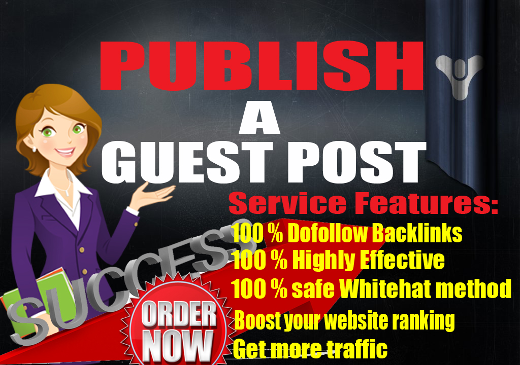 DoFollow Backlinks with Publish Guest Post On High Authority DA50 PA58
