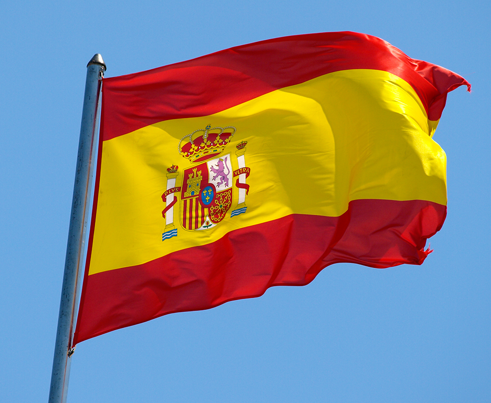 Give 5555 real human traffic directed from Spain