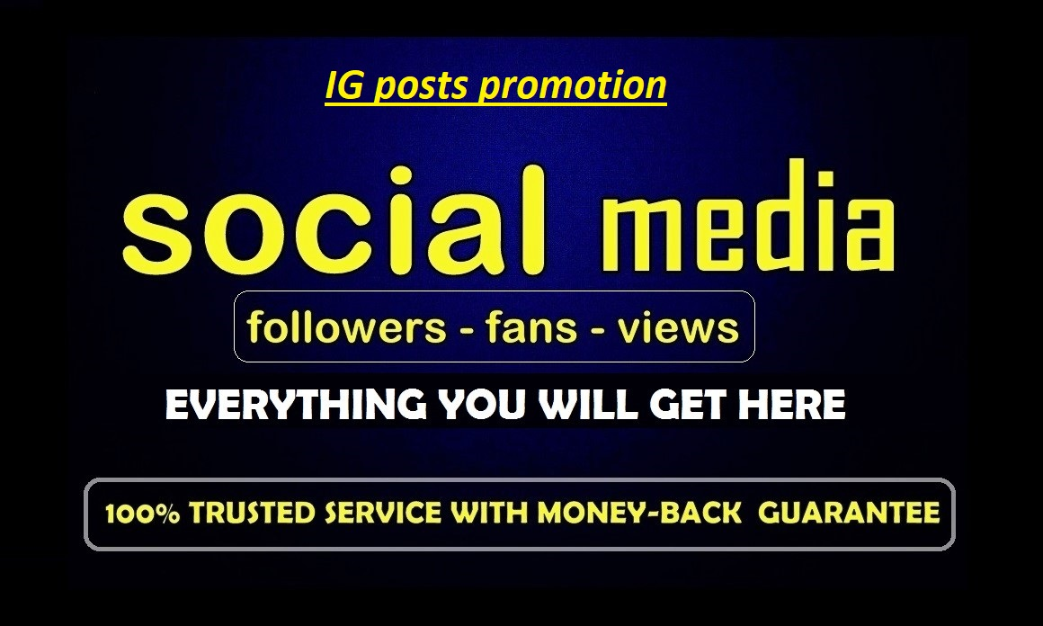 Promote your social media posts  to 8000 people (likesORviews)