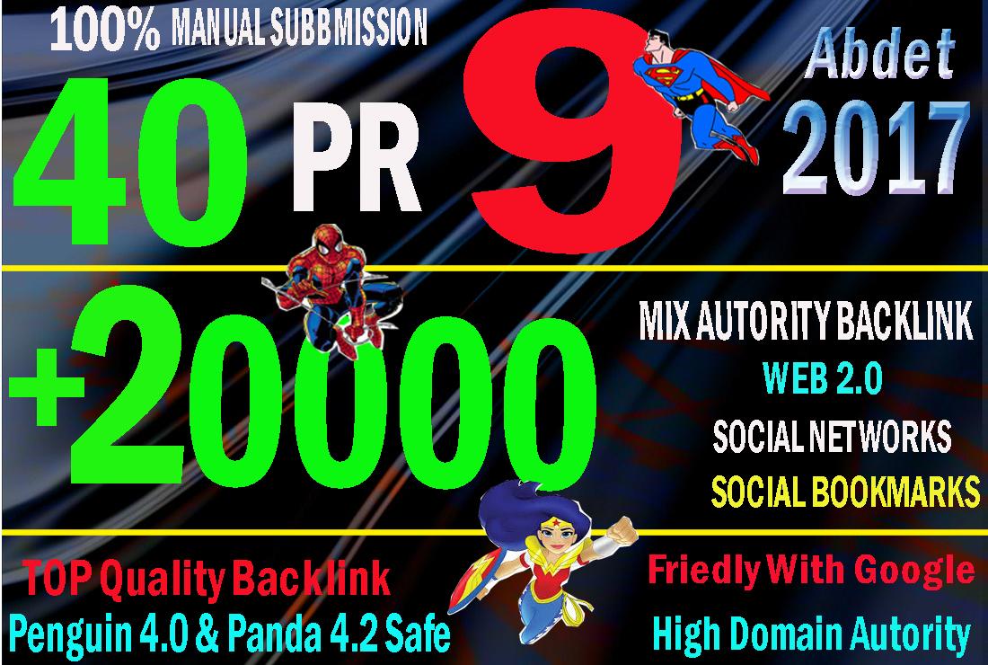 manual 40 PR 9 link 20k tier