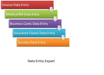 Any kind of data entry work.