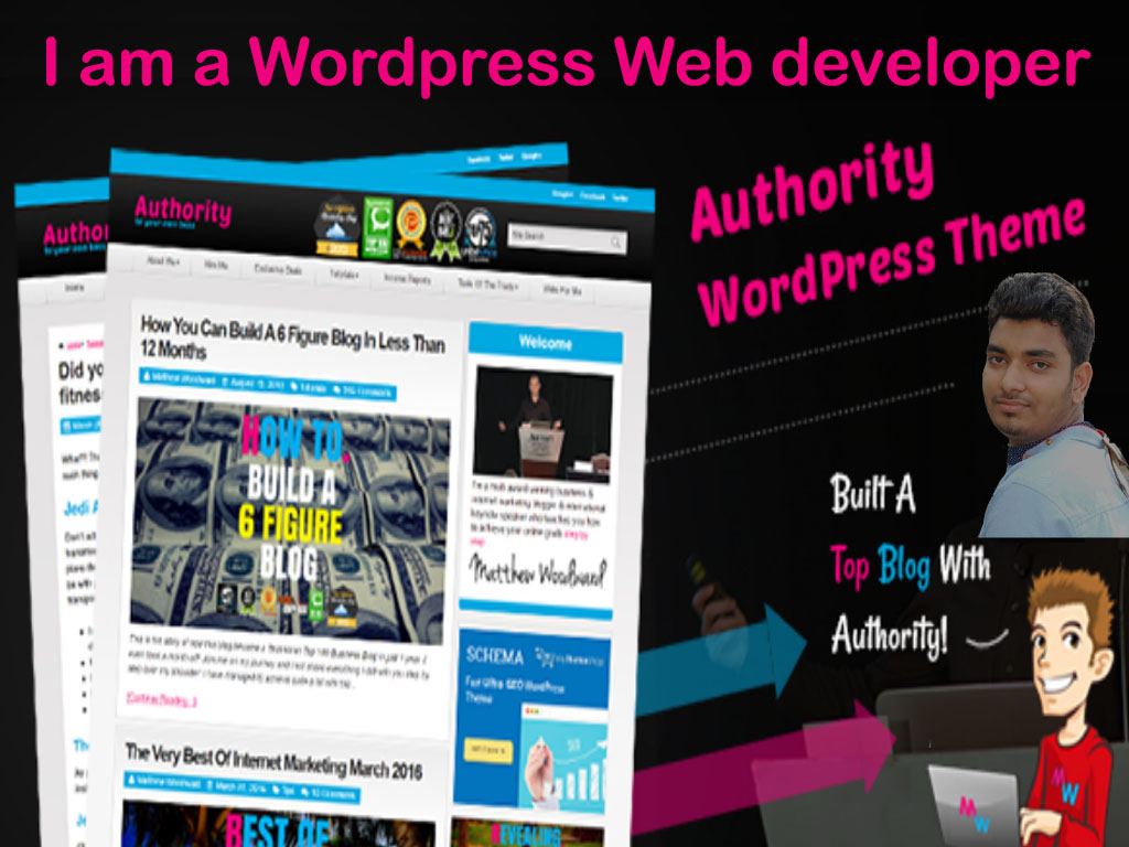 I build or customization wordpress site