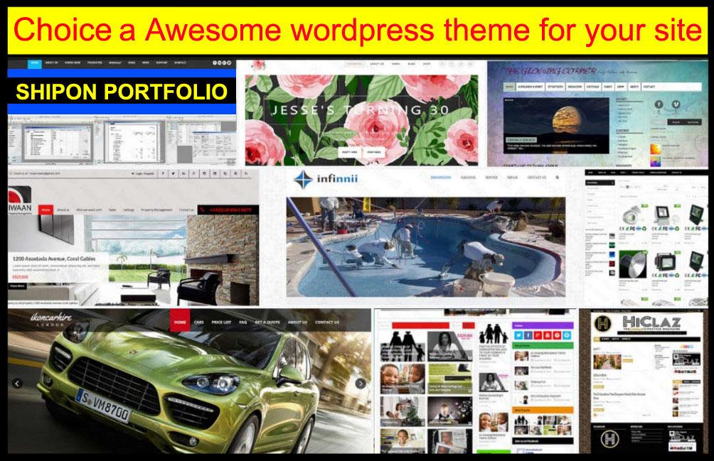 customization any wordpress site