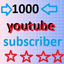 1000 youtube subscribers or 2800 youtube likes or 1300 auto comments give you