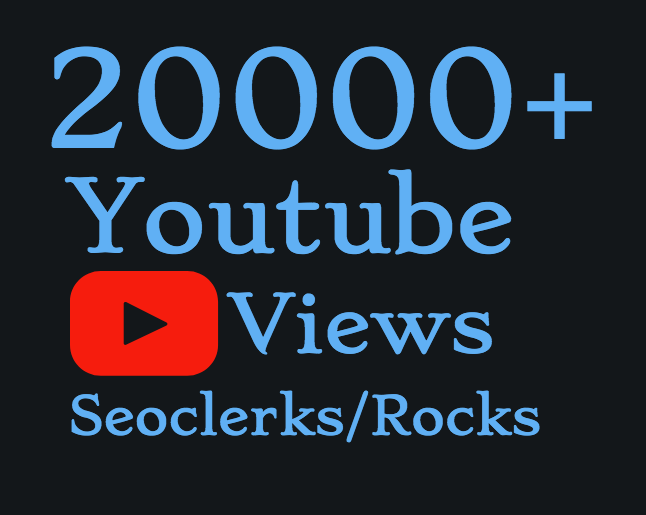 I will Add 15000+ High Quality Youtube views