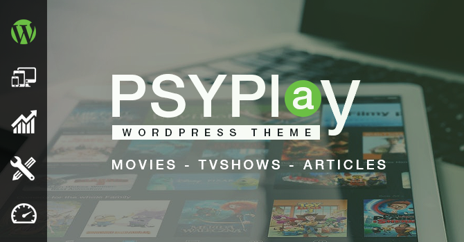 [ OFFICIEL Seller ] Make a Movie/TV SHOW streaming Website | GoMovies PsyPlay v1.2.3 Wordpress Theme