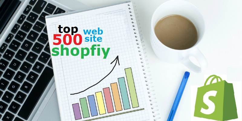 the 500 most popular top selling shopify websites