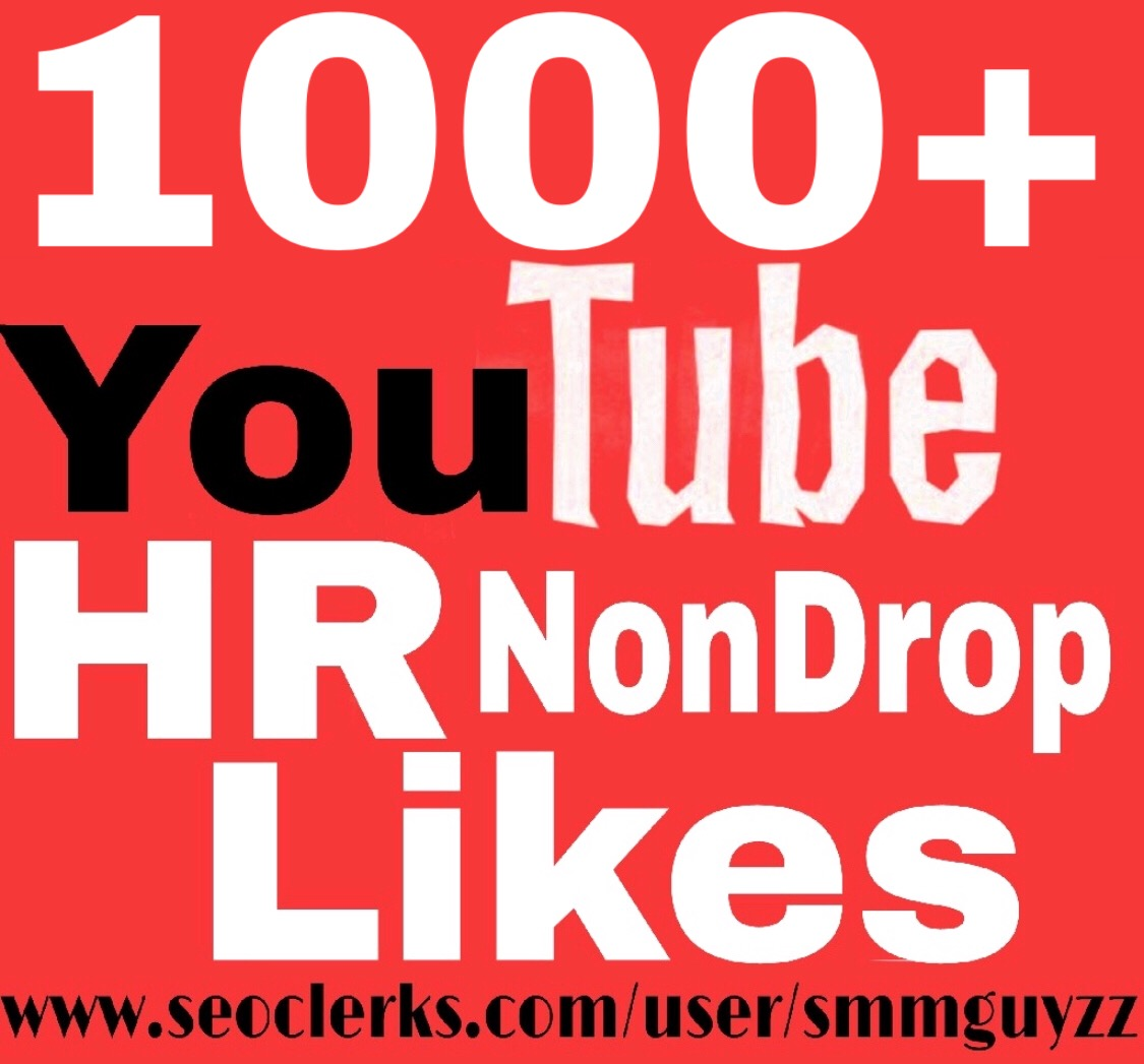 Fast 1000+YouTube Likes Real to Your Video