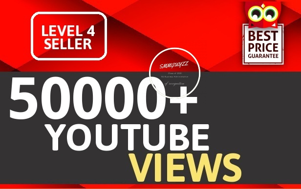 50000+ HIGH RETENTION VIEWS Instant Start Fully safe Guaranteed