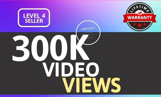 SUPER INSTANT 300K+ HQ WorldWide VIEWS FOR SOCIAL MEDIA POST