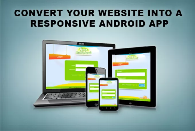 Convert your website into a cool android app with splash screen