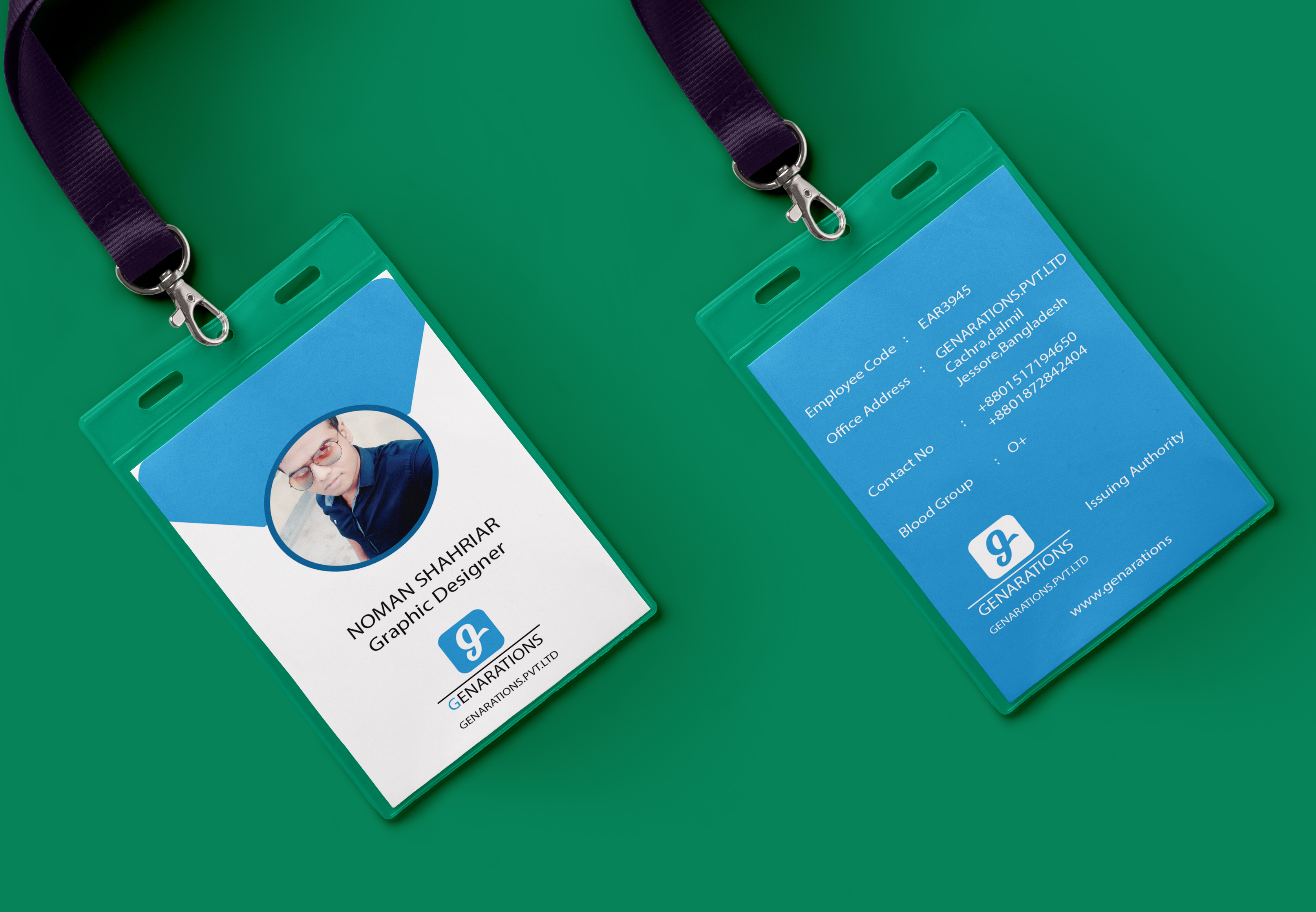 ID Card Design Within 24 Hours