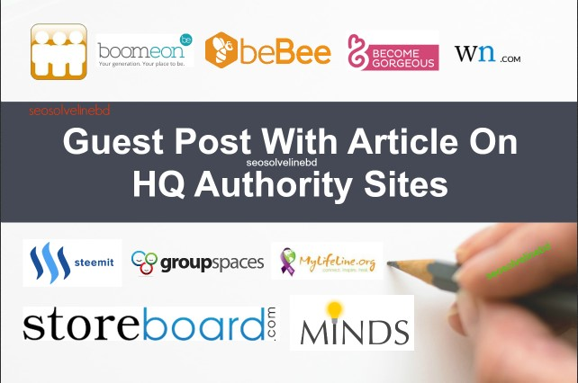 Write & Publish Guest Post On HQ Trust Flow Authority Site